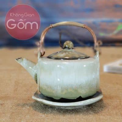Bộ trà và đĩa lót