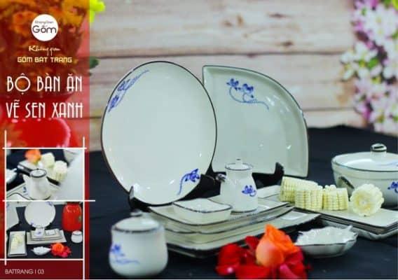 mẫu bát đĩa đẹp cho nhà hàng 4