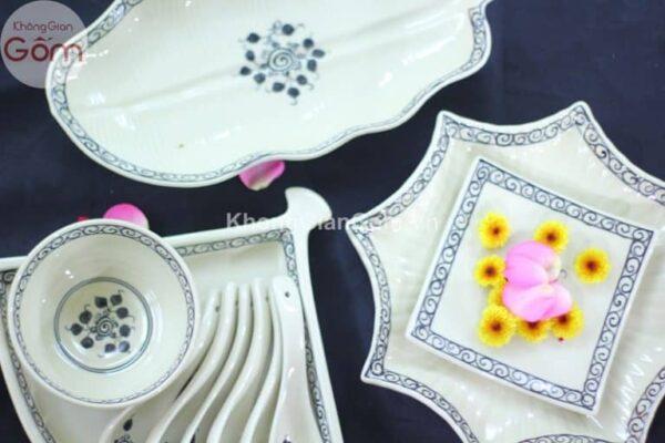 mẫu bát đĩa đẹp cho nhà hàng 6