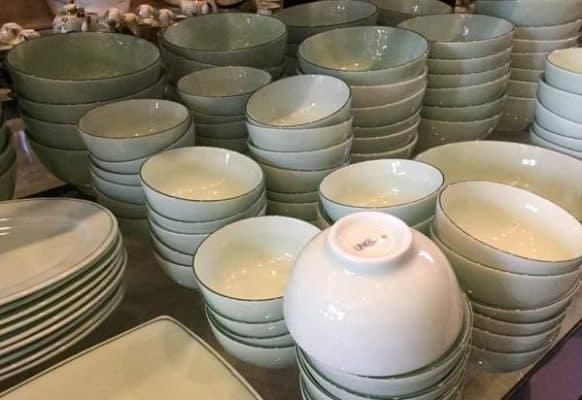 xưởng sản xuất bát đĩa