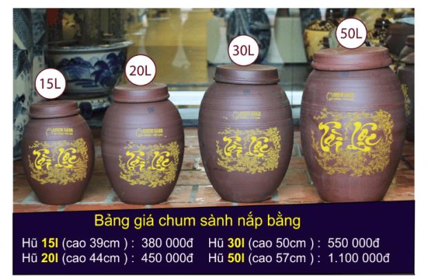 Địa chỉ cửa hàng bán chum sành ngâm rượu giá rẻ tại Đà Nẵng