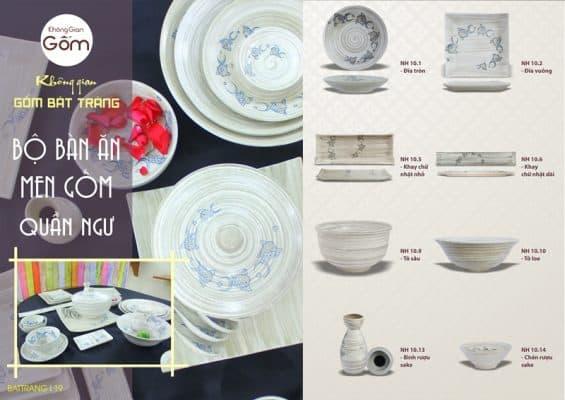 mẫu bát đĩa đẹp cho nhà hàng 12