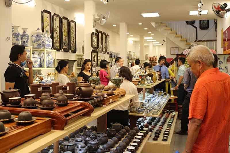 Cửa hàng Không gian gốm Bát Tràng tại Đà Nẵng