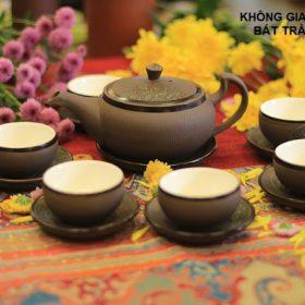Bộ ấm trà Tử sa