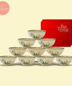 Bộ bàn ăn Bát Tràng
