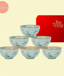 Bộ bàn ăn gốm sứ Bát Tràng