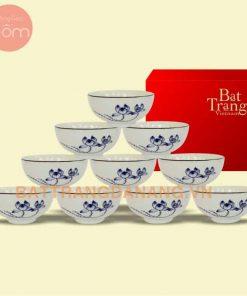 Bộ bàn ăn Bát Tràng cao cấp