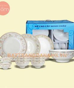 Bộ bàn ăn Minh Châu