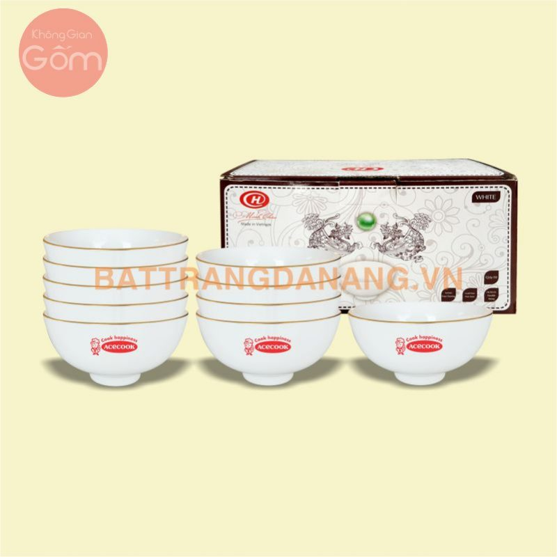 Bộ chén đĩa Minh Châu