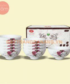 Bộ bàn ăn gốm sứ Minh Châu