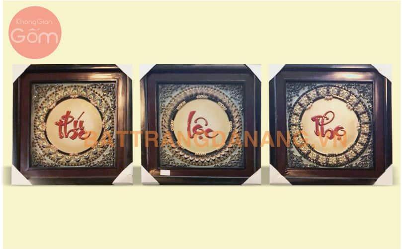 Tranh Phúc - Lộc - Thọ