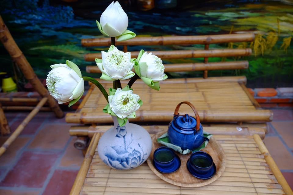 Hoa và trà