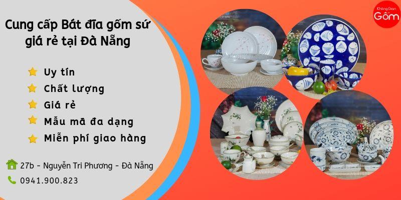 Cung cấp bát đĩa gốm sứ giá rẻ tại Đà Nẵng