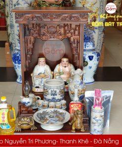 Địa chỉ bán bộ đồ thờ Thần Tài - Thổ Địa