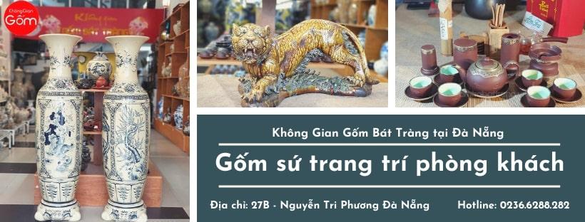 Cung cấp gốm sứ trang trí phòng khách tại Đà Nẵng