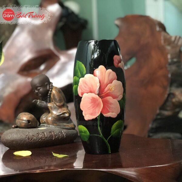 Bình hoa dáng bom S2 vẽ 3D