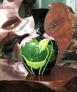 Tỏi béo vẽ 3D sứ Bát Tràng