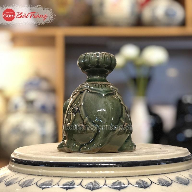 Chuột xông trầm sứ Bát Tràng
