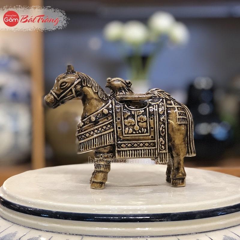 Tượng Ngựa cổ sô bằng sứ nhỏ