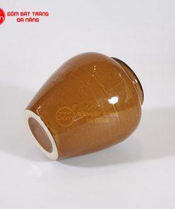 Lu đựng trà sữa bằng sứ 400ml